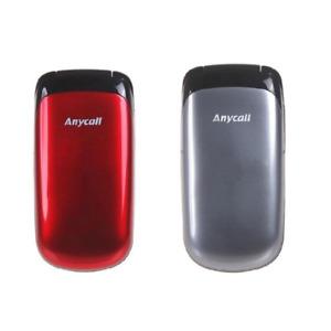 Original Samsung E1150 1150 Buttons Stylish Flip 2G GSM 900 / 1800 Mobile Phone