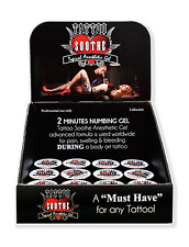 Tattoo Soothe Gel Display — 12 Jars of Topical Anesthetic