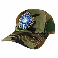 Indian Cricket Cap Military for Men Blue & Army Cotton Caps Adjustable UK