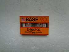 Vintage Audio Cassette BASF LH Extra I 90 * Rare From 1984 * White