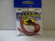 Team Catfish TC84Z size 8/0 Circle Offset red hooks 3 per package NIP