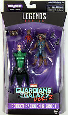 Marvel Legends ~ ROCKET RACCOON & GROOT FIGURE SET ~ GOTG Series 2 ~ IN STOCK