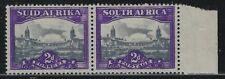South Africa 1945 2d Government Buildings pair Sc# 55 NH