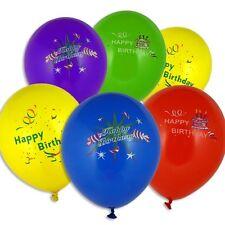10 Luftballons Happy Birthday Luftballon Geburtstag Party Dekoration