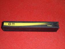 1 leere Patrone HP 980 Yellow  Gelb leer mit Chip und Rechnung