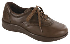 SAS Walk Easy Coffee Women's Shoes 6.5 WW Double Wide FREE SHIPPING New In Box