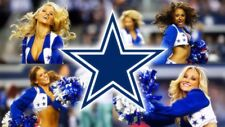 Dallas Cowboys Flag Man Cave Banner Cheerleaders 3 x 5 Fast Ship USA