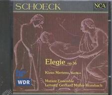 Schoeck / Mertens Mutare Ensemble - Elegie op 36 CD NEU
