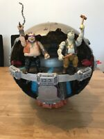 TMNT Technodrome With Bebop And Rocksteady Action Figures