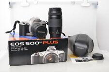 CANON EOS 500N SLR Canon 28-80mm/3,5-5,6 + 75-300mm/4-5,6