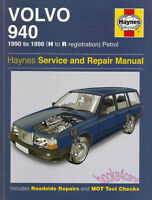 VOLVO 940 SHOP MANUAL SERVICE REPAIR BOOK HAYNES GUIDE TURBO CHILTON 1991 1998