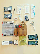 **NEW** Tan Medical First Aid Kit IFAK Condor EMT Light Pouch - Fully Stocked