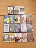 audio music cassette tapes bundle joblot x 17 as pictured mct07