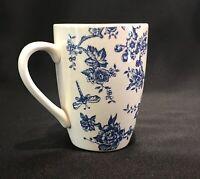 Churchill Queen's Blue Toile du Jouy 10oz. Coffee Cup Mug