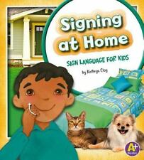 Signing at Home: Sign Language for Kids (Time to Sign)-ExLibrary