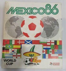 PANINI  MEXICO 86    WORLD CUP 86   STICKER ORIGINAL