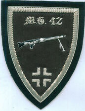 German Army MG 42 Mauser Machine Gun Unit Crew War Battle Maschinengewehr Patch