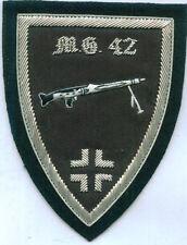 German Army MG 42 Mauser Machine Gun Unit Crew War Battle Maschinengewehr Patch