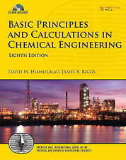 USED (GD) Basic Principles and Calculations in Chemical Engineering (8th Edition
