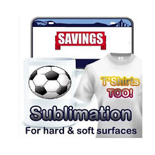 Dye Sub Sublimation Ink Printer Heat Transfer Paper 200 Sheets 85x11 Usa 1