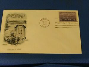 Scott #970 3 Cent Stamp Honoring Fort Kearney First Day Issue