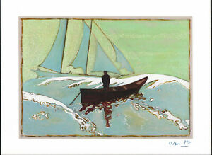 BILLY CHILDISH SIGNED AND NUMBERED THE GREAT BANKS GICLEE 2013 MINT