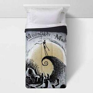 The Nightmare Before Christmas Sheet Set + Comforter Set (Twin) 4pcs