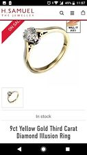 9 Carat Gold engagement ring