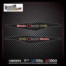 KTM 11-12 AKRAPOVIC Brembo Regina Carbono Swingarm Negro Decal Sticker MX (234)