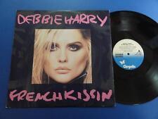 "DEBBIE HARRY  FRENCH KISSIN Chrysalis 86 A2B1 p/s 12"" 45 EX"
