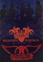 AEROSMITH 2003 ROCKSIMUS MAXIMUS TOUR CONCERT PROGRAM BOOK BOOKLET / NMT 2 MINT
