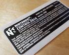 Nintendo 64 N64 Control Deck NUS-001 Replacement Console Label Sticker MINT