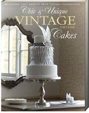 Chic & Unique Vintage Cakes (pb) Zoe Clark vintage style wedding cakes NEW