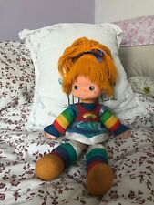 Large rare Rainbow Brite doll vintage doll with Original packaging