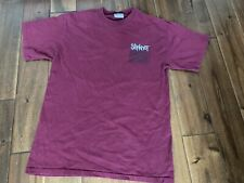 Rare Vintage Slipknot Barcode Red Band Merch T-Shirt Mens Authentic
