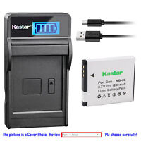 Kastar Battery LCD Charger for Canon NB-8L CB-2LA & Canon PowerShot A2200 Camera