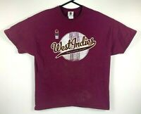 Vintage West Indies World Series Cricket T Shirt Size XL Official Product