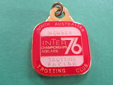 SATC Trotting Club Inter Championship 76 member Badge