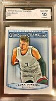 SP Luka Doncic Rookie Goodwin Champions #30 Variation Gem Mint 10 2019 All Star