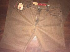 "Alberto Red Label Rust Jeans 36"" W 36"" leg Long Size 106 Mens vtg Cotton BNWT"