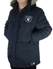 Majestic NFL Football Oakland Raiders Winter Parka Mantel Steppjacke Winterjacke