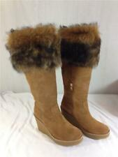 NEW Ugg Boot Valberg Wedge Chestnut Size 7