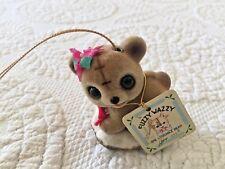 Josef Original Fuzzy Wazzy Bear Ornament