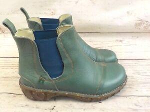 EL Naturalista Chelsea Boots gr 38  grün  R83