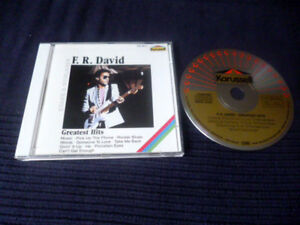 CD F.R. David Best Of Greatest Hits Collection WORDS Karussell PDO W-Germany
