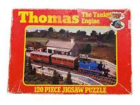 Vtg Thomas The Tank Engine 120 Piece Jigsaw Puzzle Complete Croner 1986 Train