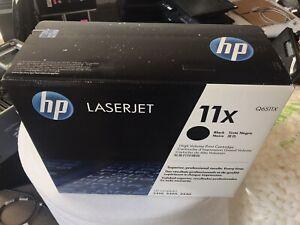 New Genuine HP 11X (Q6511X) Black Toner Cartridge