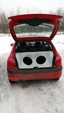 Peugeot 206 Audio Box / Kofferraumausbau / Soundbox / Soundboard