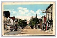 Vintage 1910's Postcard West Martin Street Martinsburg West Virginia