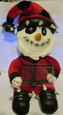 Holiday Punk Snowman Spencer's Gifts Exclusive 2004 Retired Vhtf